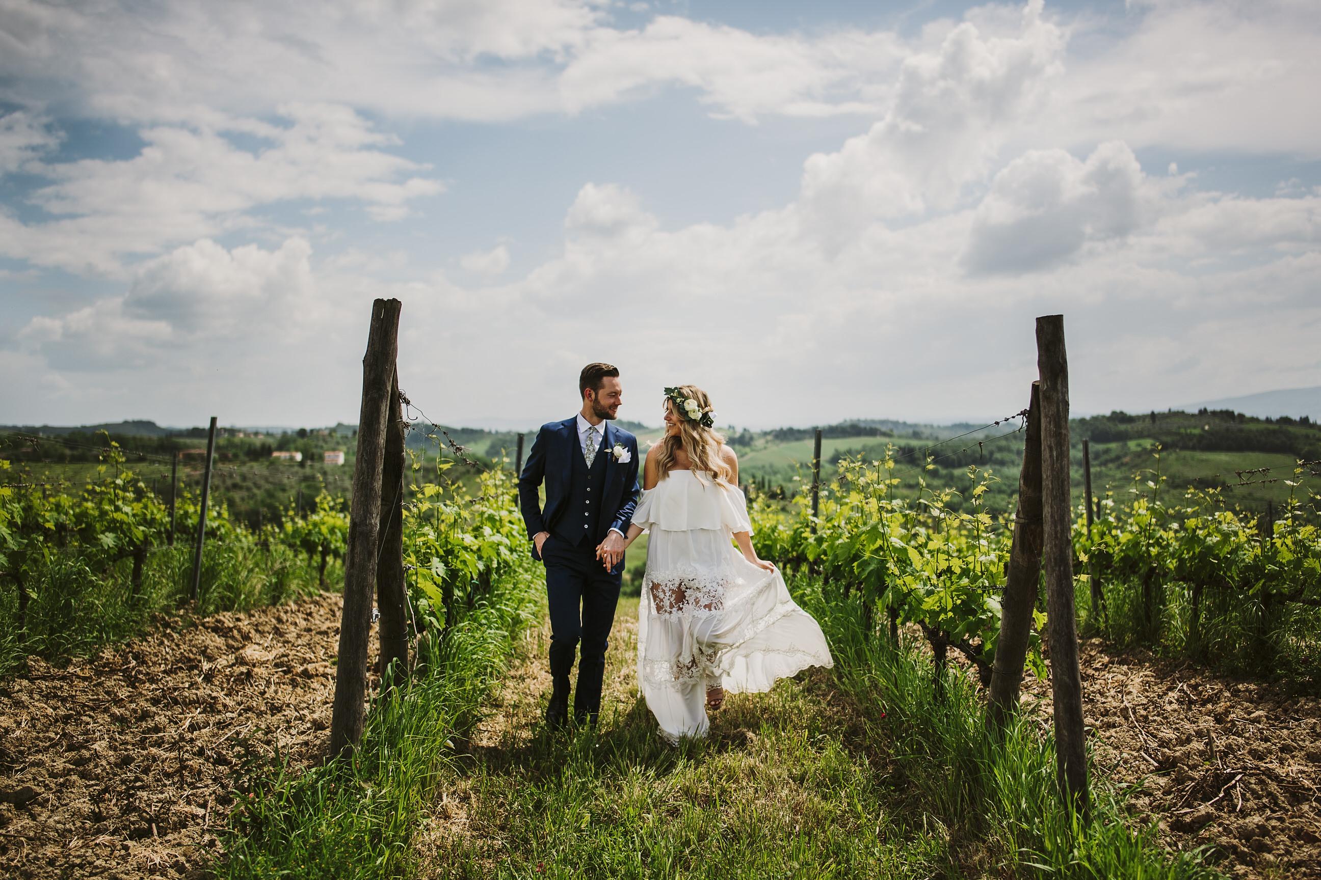 Matrimonio Vigneto Toscana : Susanna sebastian matrimonio nel vigneto del chianti