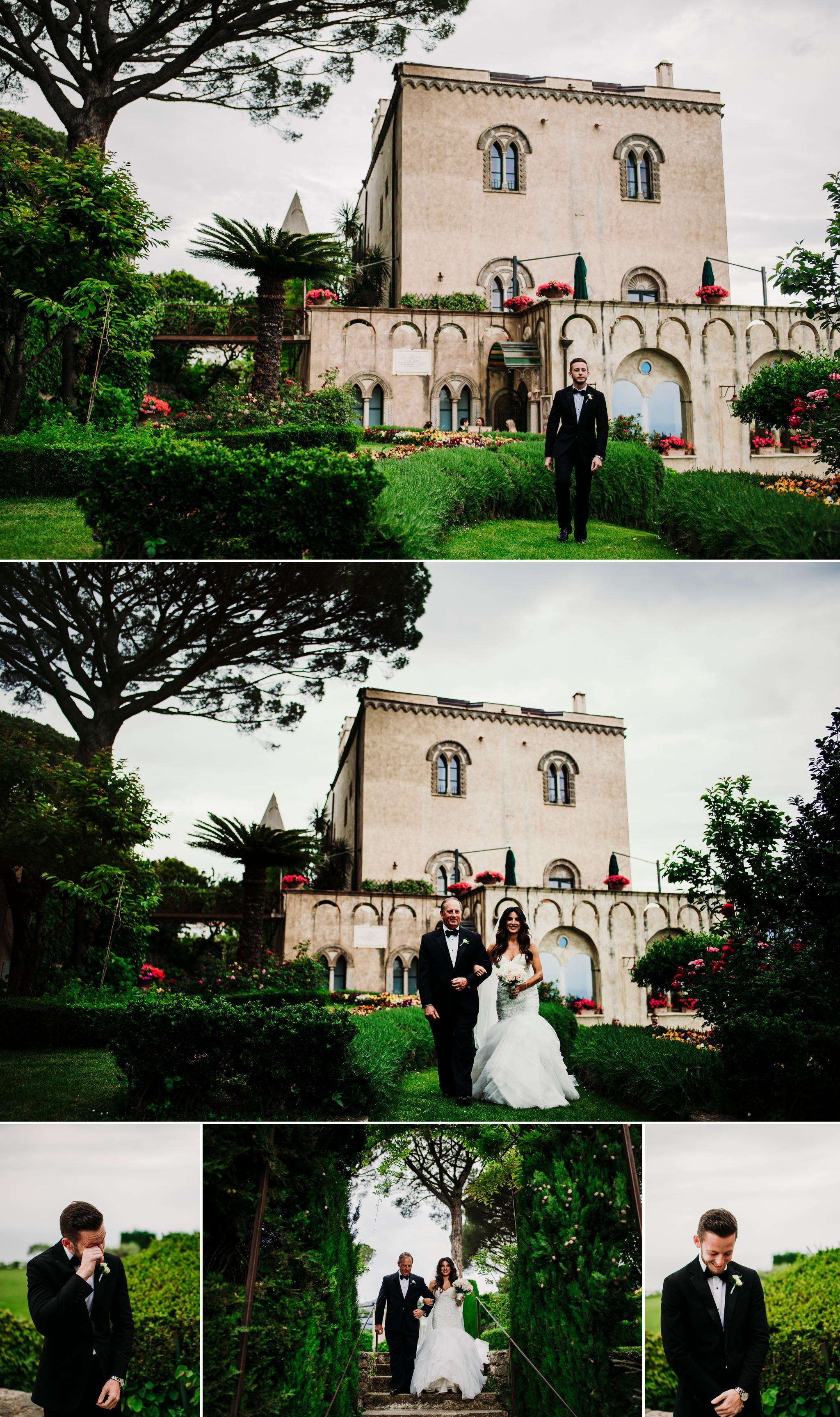 Wedding Photographer Villa Cimbrone16